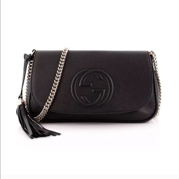54864169092750 Gucci Bags | Auth Soho Black Bag | Poshmark